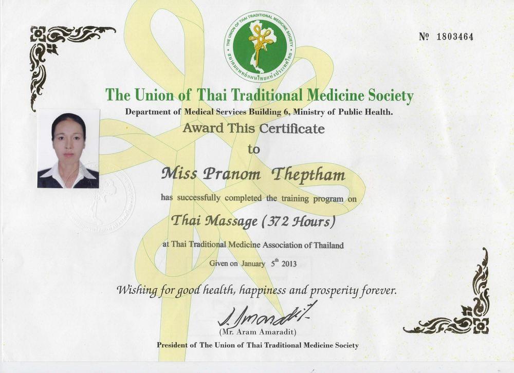 Сертификат мастера Ном